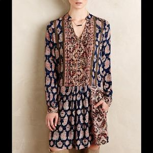 Anthropologie Tiny Paquerette Shirtdress Size M